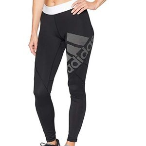 Adidas Women's Alphaskin Sport LEGGINGS NWT